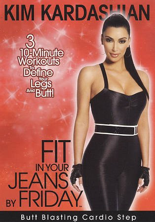 Kim Kardashian: Fit in Your Jeans by Friday - Butt Blasting Cardio Step (DVD,...