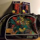 Teenage mutant ninja turtles rolling bookbag travel plus Pencils and sharpeners