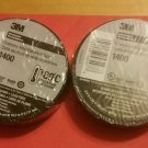Two pack 3M Economy electrical tape 3/4 inches by 20 yards