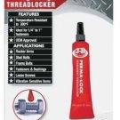 NEW JB Weld J-B Perma-Lock 6ml High Red Threadlocker 27106 NIB