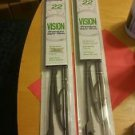 Set of two 22 inch wiper blades