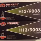 NEW Set of 2 Heliolite Halogen H13 9008 Head Light Lamp Bulbs 60/55W FREE SHIP