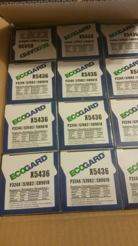 Case of twelve oil filters Ecogard x5436