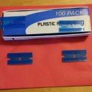Plastic razor blades - Removes decals,pinstripes,windows. No scratch, SMA RZ-014