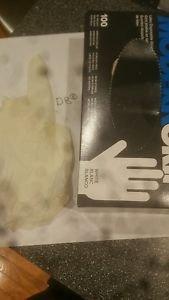 Box of 100 latex gloves 5ml modergrip size xl