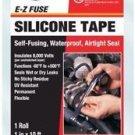 2 rolls ofPro-Seal E-Z Fuse Silicone Tape 15413 by Super Glue Corporation