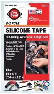 2 rolls ofPro-Seal E-Z Fuse Silicone Tape 15413 by Super Glue Corporation