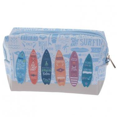 Handy PVC Make Up Toilette Wash Bag - Surfboards
