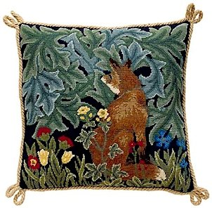 FOX Needlepoint KIT Beth Russell William Morris