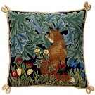 FOX Needlepoint CANVAS Beth Russell William Morris