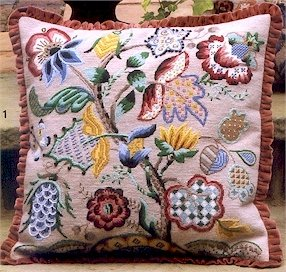Audley End Cushion Needlepoint Kit by Glorafilia (gl5024)