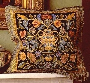Renaissance Cushion Needlepoint Kit by Glorafilia (gl5015)