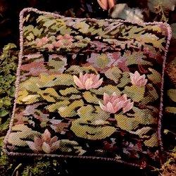 Waterlilies Cushion Needlepoint Kit by Glorafilia (gl493)