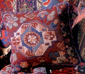 Bukhara Cushion Needlepoint Kit by Glorafilia (gl849)