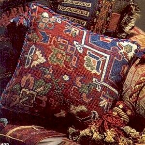Persian Cushion Needlepoint Kit by Glorafilia (gl423)