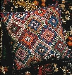 Turkish Cushion Needlepoint Kit by Glorafilia (gl424)