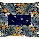 ORANGE BORDER Needlepoint CANVAS Beth Russell William Morris