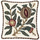 POMEGRANATE - FRUIT Needlepoint CANVAS Beth Russell William Morris