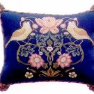 STRAWBERRY THIEF 1 Cushion Needlepoint CANVAS Beth Russell William Morris