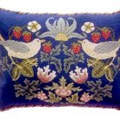 STRAWBERRY THIEF 3 Cushion Needlepoint CANVAS Beth Russell William Morris