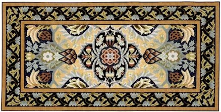 POMEGRANATE RUG Needlepoint KIT Beth Russell William Morris