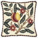 PEACH - FRUIT Needlepoint KIT Beth Russell William Morris