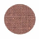 "18 mesh Mono DeLuxe Rose Blush 40"" wide Needlepoint Canvas Zweigart (9281-470-40)"