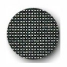 "18 mesh Mono DeLuxe Black 40"" wide Needlepoint Canvas Zweigart (9281-720-40)"