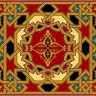 Arabesque Needlepoint Cushion Canvas (ar19-072c)