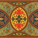 Arabesque Persian Needlepoint Cushion Canvas (ar19-054c)