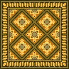 American Quilt Cushion Needlepoint Canvas (ar18-027c)
