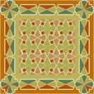 American Quilt Cushion Needlepoint Canvas (ar18-018c)