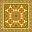American Quilt Cushion Needlepoint Canvas (ar18-029c)