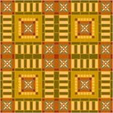 American Quilt Cushion Needlepoint Canvas (ar18-054c)