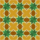 Star Quilt Pattern Needlepoint Canvas Lena Lawson (ar18-075c)