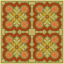 Victorian Tile Cushion Needlepoint Canvas (ar18-031c)