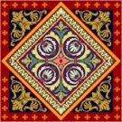 Victorian Cushion Needlepoint Canvas (ar18-066c)