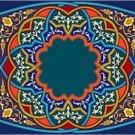 Arabesque Cushion Needlepoint Canvas Lena Lawson (ar19-068c)