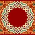 Arabesque Cushion Needlepoint Canvas Lena Lawson (ar19-073c)
