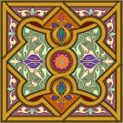 Arabesque Cushion Needlepoint Canvas Lena Lawson (ar19-053clgsq)