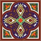 Arabesque Cushion Needlepoint Canvas Lena Lawson (ar19-045c)