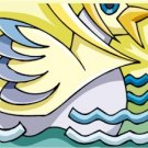Abstract Funky Duck Needlepoint Canvas (ab1-27)