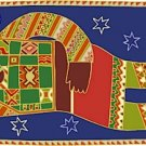 Rest African Folk Art Needlepoint Canvas (af1-3)