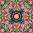 Arabesque Cushion Needlepoint Canvas Lena Lawson (ar9-ar-01c2)