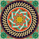 Arabesque Cushion Needlepoint Canvas Lena Lawson (ar9-ar-04c)