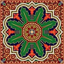 Arabesque Cushion Needlepoint Canvas Lena Lawson (ar9-ar-09c)