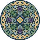 Arabesque Cushion Needlepoint Canvas Lena Lawson (ar9-ar-06c)