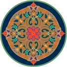 Arabesque Cushion Needlepoint Canvas Lena Lawson (ar9-ar-07c)