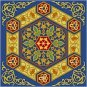 Arabesque Cushion Needlepoint Canvas (ar19-048c4)