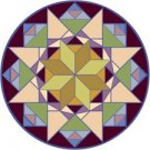 American Quilt Cushion Needlepoint Canvas (ar22-005c)